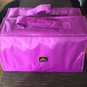 Joy Mangano travel make up tote.